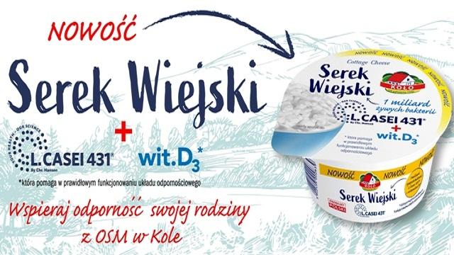 Już w sprzedaży nasz nowy produkt – SEREK WIEJSKI L.Casei 431 + wit. D3 150 g