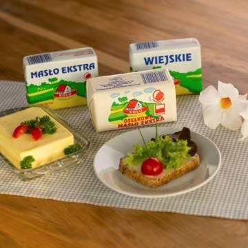 Masła i tłuszcze mleczne