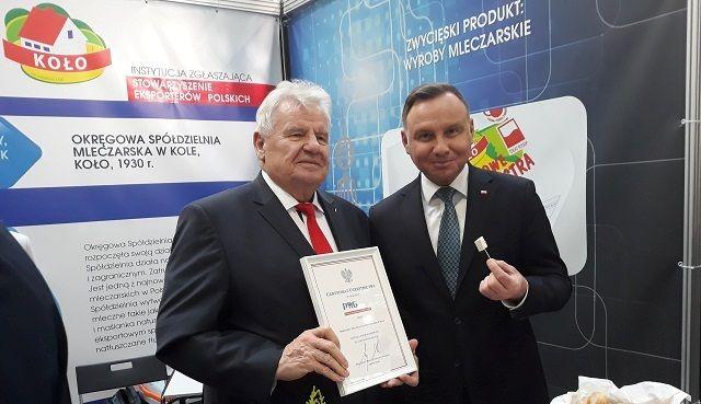 Prezydent RP na naszym stoisku na Polskiej Wystawie Gospodarczej