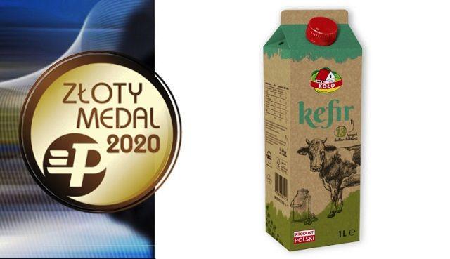 Złoty Medal MTP POLAGRA dla naszego Kefiru 1 Litr