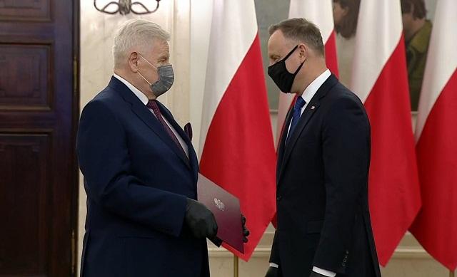Prezes OSM w Kole Pan Czesław Cieślak w Radzie Rolnictwa i Obszarów Wiejskich przy Prezydencie RP